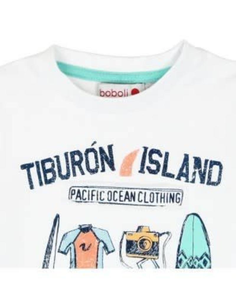 Boboli Boboli Shirt Island wit