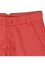 Boboli Boboli Broek rood kort en verstelbaar in de taille
