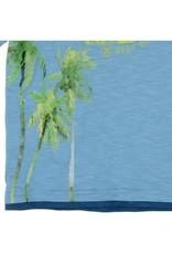 Boboli Boboli Shirt blauw Hawai