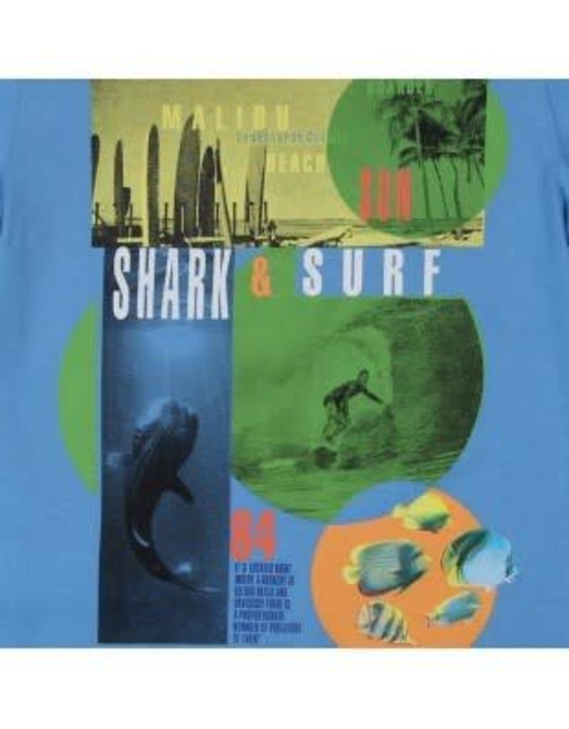 Boboli Boboli Shirt surfen kobalt
