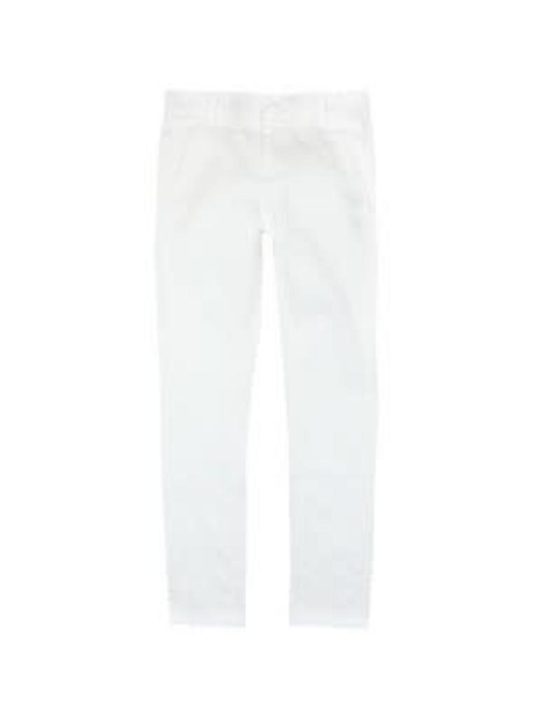 Boboli Boboli  Broek wit verstelbaar in de taille