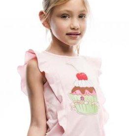 Rosalita Rosalita Shirt rose  cupcake