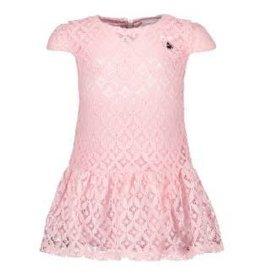 Le Chic Le Chic jurkje roze van kant