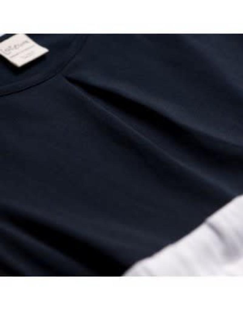 a2d9ecf21cc4ba Jottum Jottum jurk donkerblauw met wit katoenen rok - Villa Rose