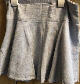 Baker Bridge Baker Bridge rok donkerblauw van tricot
