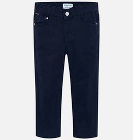 Mayoral Mayoral 5 pockets twill trousers Navy