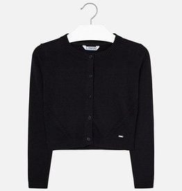 Mayoral Mayoral Basic knitted cardigan Black