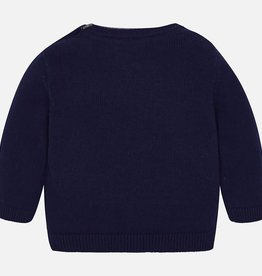 Mayoral Mayoral Basic crew neck sweater Navy