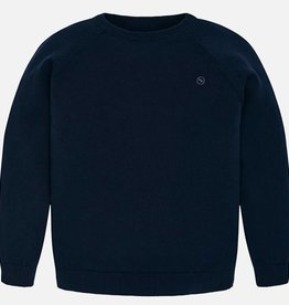 Mayoral Mayoral Basic cotton sweater Navy