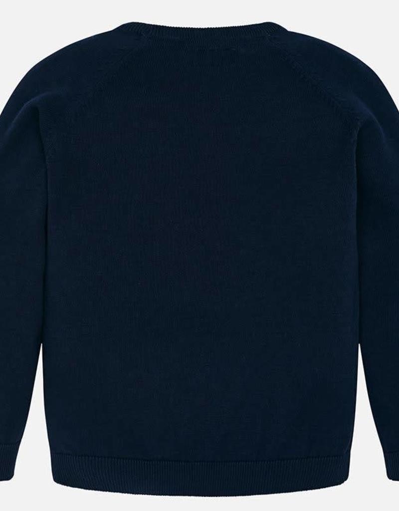 Mayoral Mayoral Basic cotton sweater Navy