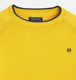 Mayoral Mayoral Basic cotton sweater Gold