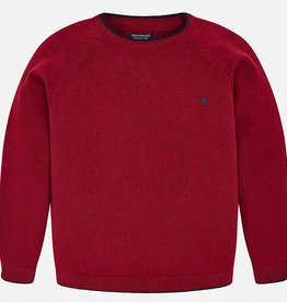 Mayoral Mayoral Basic cotton sweater Red Wine