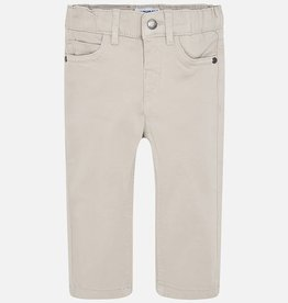 Mayoral Mayoral 5 pockets twill trousers Soy