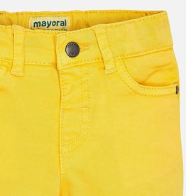 Mayoral Mayoral 5 pockets twill trousers Gold