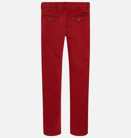Mayoral Mayoral Twill basic trousers Red Wine