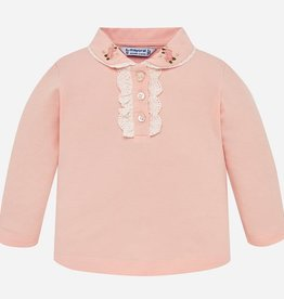 Mayoral Mayoral L/S polo Rose