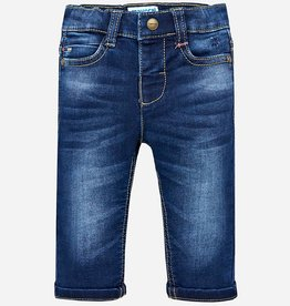 Mayoral Mayoral Soft denim pants Dark