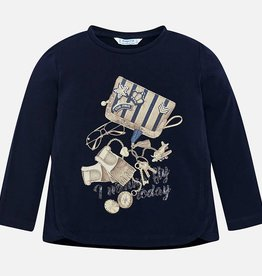 Mayoral Mayoral L/s shirt Navy