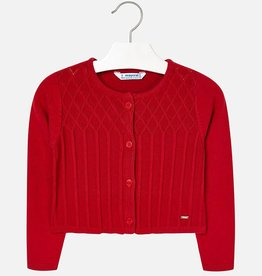 Mayoral Mayoral Knit cardigan Red