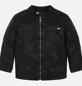 Mayoral Mayoral Leather jacket Black