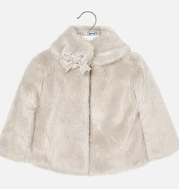 Mayoral Mayoral Fur coat Stone