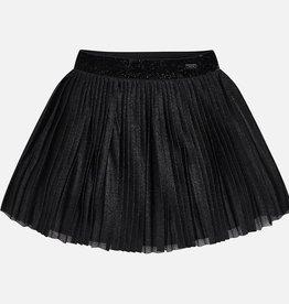 Mayoral Mayoral Pleaded skirt Black