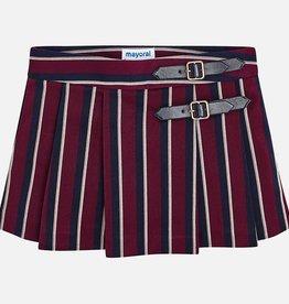 Mayoral Mayoral Stripe skirt Raspberry