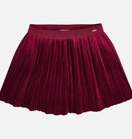 Mayoral Mayoral Pleated skirt Raspberry