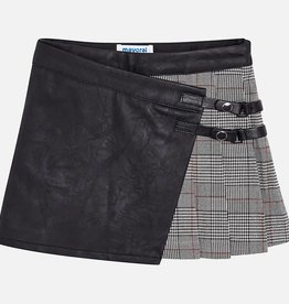 Mayoral Mayoral Checked skirt Red