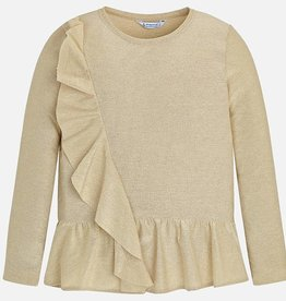 Mayoral Mayoral L/s t-shirt Champagne