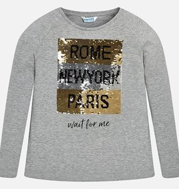 Mayoral Mayoral L/s t-shirt Silver