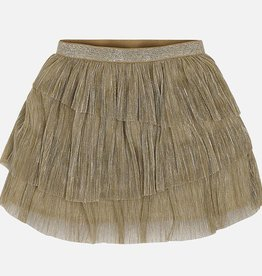 Mayoral Mayoral Pleaded skirt Golden