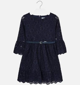 Mayoral Mayoral Lace dress Navy