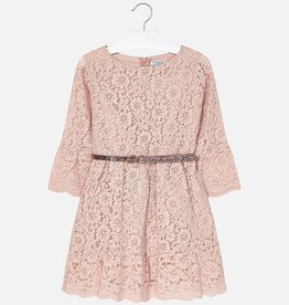 Mayoral Mayoral Lace dress Nude