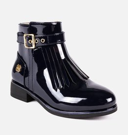 Mayoral Fringed booties Navy