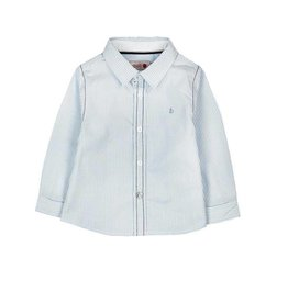 Boboli Boboli Poplin shirt for baby boy stripes