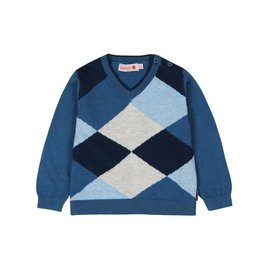 Boboli Boboli Knitwear pullover for baby boy artic