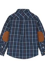 Boboli Boboli Poplin shirt for boy checks