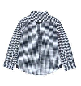 Boboli Boboli Poplin shirt for boy checks-2