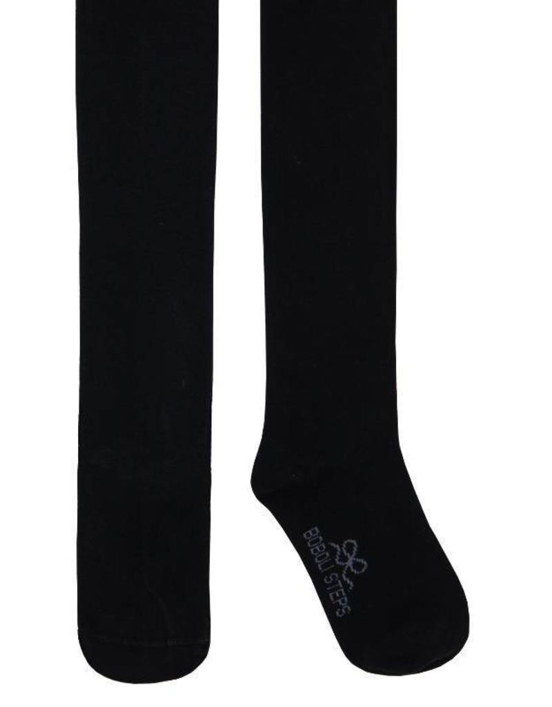 Boboli Boboli Basic thick tights for girl BLACK