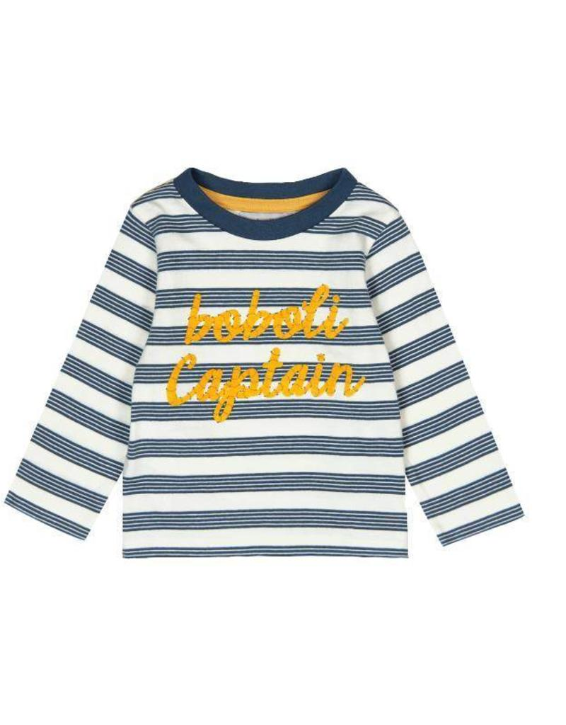 Boboli Boboli Knit t-Shirt striped for baby boy stripes