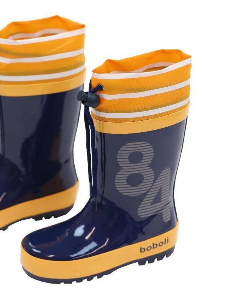 Boboli Boboli Boots for baby boy INDIGO