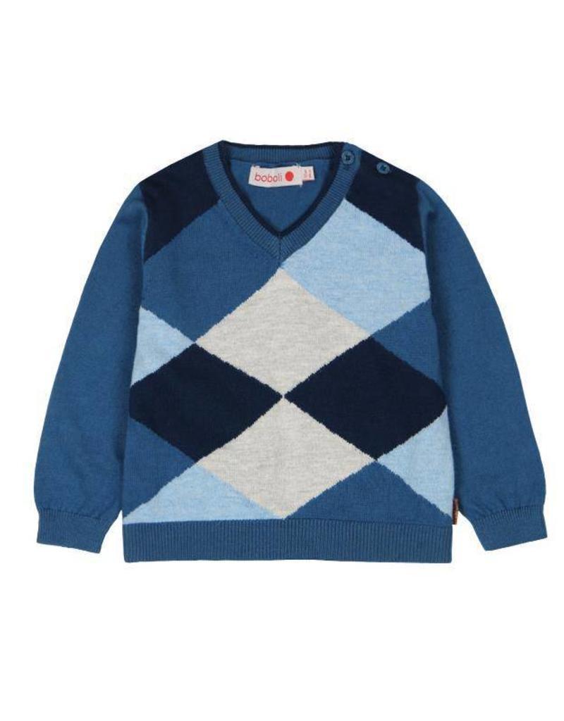 Boboli Boboli Knitwear pullover for baby boy artic
