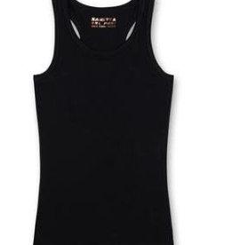 Sanetta Sanetta Shirt w/o sleeves M San Athleisure.Leopard super black