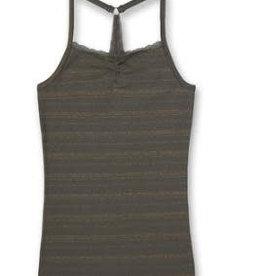 Sanetta Sanetta Shirt w/o sleeves allover M San Athleisure Leopard deep khaki