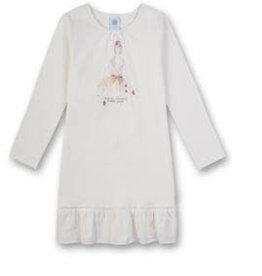 Sanetta classic Sleepshirt w.print M CI Cat Loving broken white