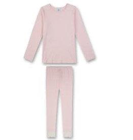 Sanetta classic Pyjama long M CI Modern Lace wild rose