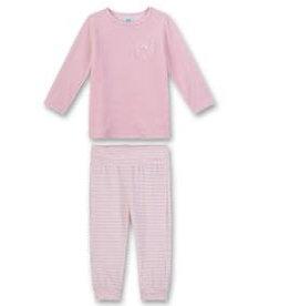 Sanetta classic Pyjama long B CI Kitty Cat magnolie