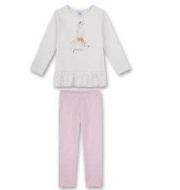 Sanetta classic Pyjama long M CI Cat Loving broken white