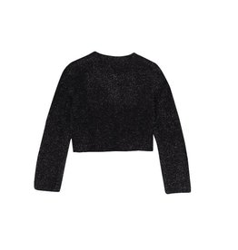 Boboli Boboli Knitwear jacket for girl BLACK